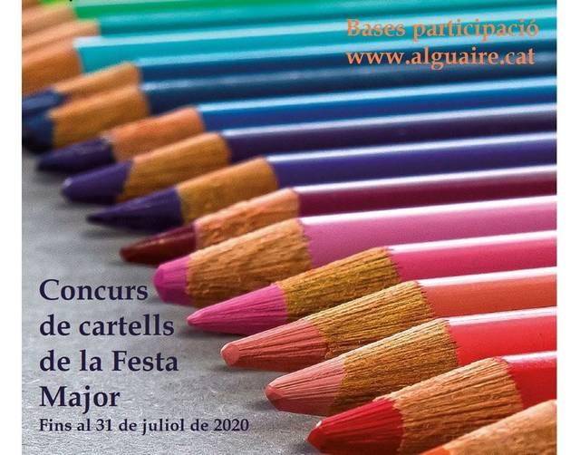 El concurs de cartells de la Festa Major d'Alguaire ja té guanyadores