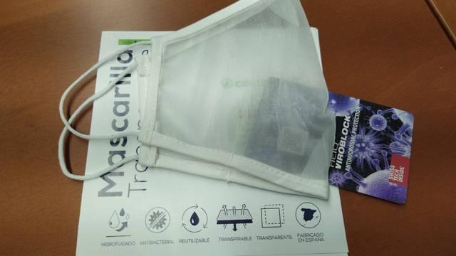 El Consell Comarcal del Segrià compra 80 mascaretes transparents per millorar l'atenció a la ciutadania
