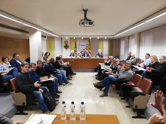 El Consell Comarcal del Segrià fa una declaració institucional en defensa d'uns preus justos per a la pagesia i la fruita dolça
