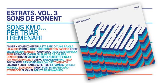 El Consell Comarcal Segrià ja disposa de 2.000 còpies del doble CD d'Estrats-Sons de Ponent