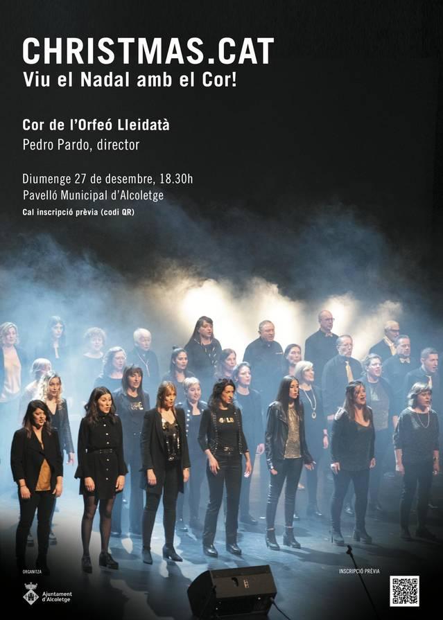 El Cor de l'Orfeó Lleidatà, aquest diumenge a Alcoletge