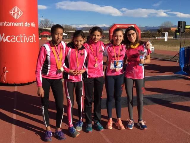 El Lleida U.A. aconsegueix 4 sotscampionats de Catalunya en cros