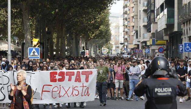 El manifestant ferit a l'ull a Barcelona és veí d'Artesa de Lleida