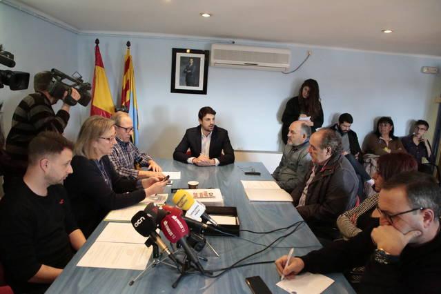 El PSC de Gimenells rebutja la moció de censura del PP