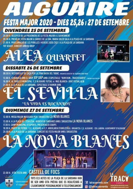 'El Sevilla', protagonista de la Festa Major d'Alguaire