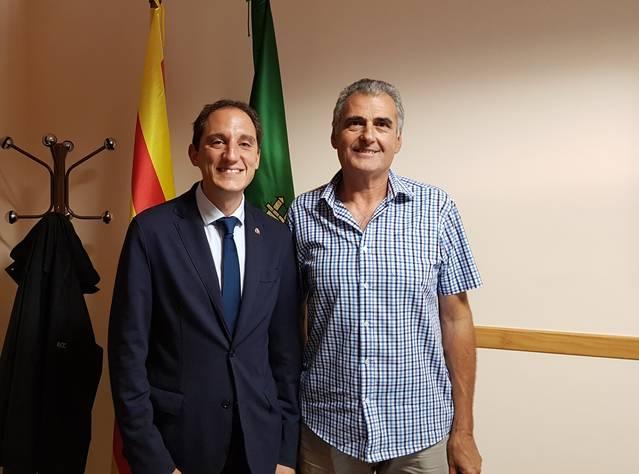 El subdelegat del Govern es reuneix amb l'alcalde de Torrebesses