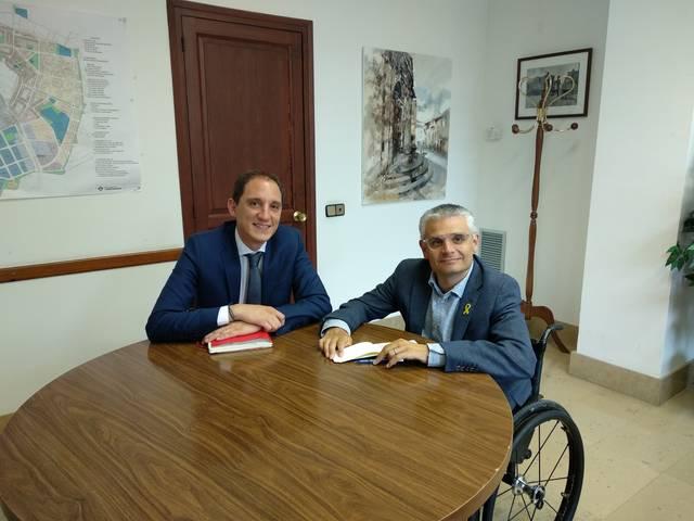 El subdelegat del Govern es reuneix amb l'alcalde de Torrefarrera