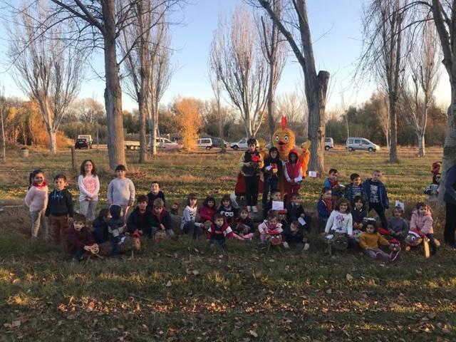 El tronc de Nadal arriba a Aitona en una jornada solidària en favor de La Marató de TV3