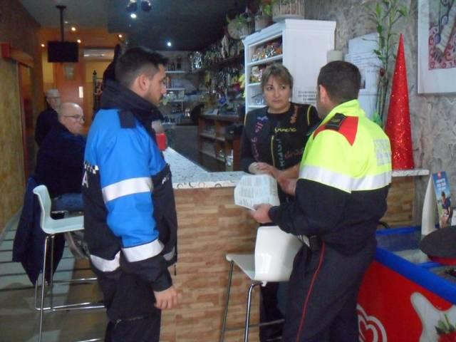 En marxa una campanya per millorar la seguretat en els comerços d'Almacelles