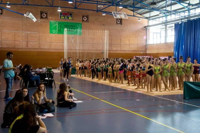 Èxit de participació al Trofeu de Gimnàstica Rítmica d'Almenar