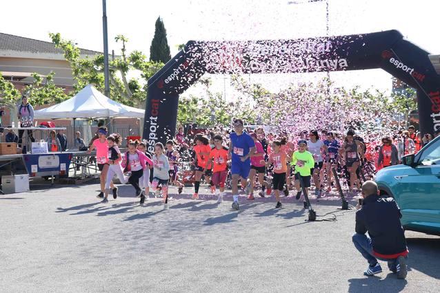 Gairebé 300 participants a la IVª Cursa de la Dona d'Alpicat