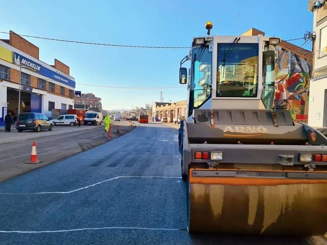 Gairebé enllestit el reasfaltat de la travessia de la N-230 a Alfarràs