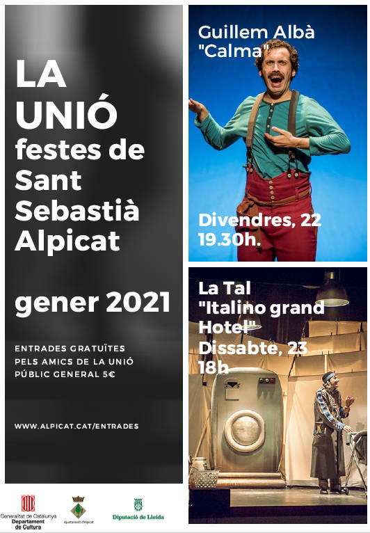 Guillem Albà i La Tal, protagonistes únics d'una Festa Major de Sant Sebastià d'Alpicat que arriba en format reduït