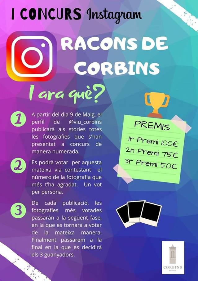 I Concurs de fotografia Racons de Corbins amb votació popular