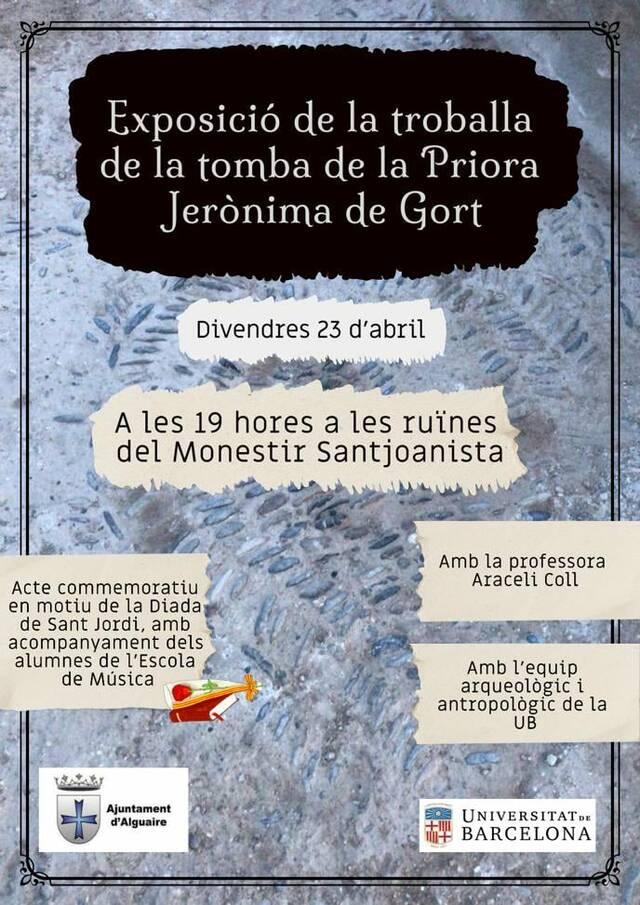 Important descoberta arqueològica a Alguaire