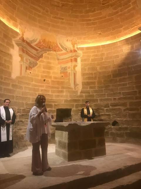 Inaugurades les obres de restauració de l'ermita de Sant Joan de Carratalà d'Aitona