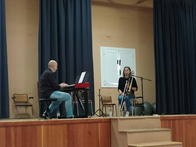 Joana Cebolla i Xavi Monge, al festival Itinera a Montoliu