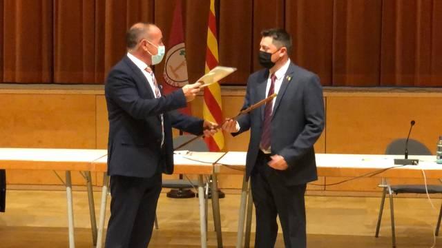 Jordi Janés pren el relleu de Manel Ezquerra com a nou alcalde d'Alcarràs