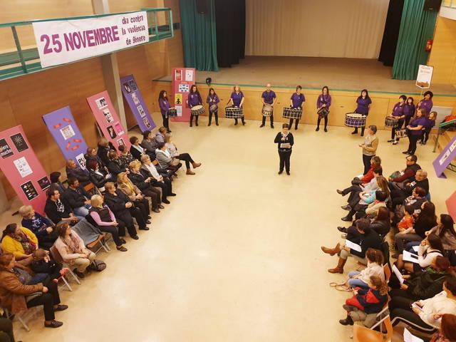 Jornades contra la violència de gènere a La Granja d'Escarp