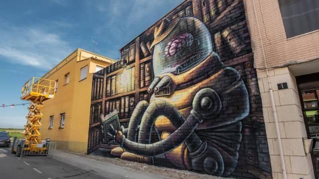 Juanjo Surace i Bastian, guanyadors del Street Art Festival de Torrefarrera