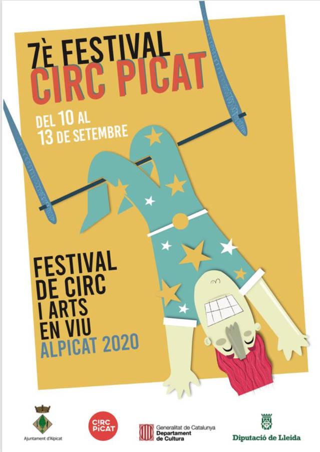 La 7a edició de Circ Picat es trasllada de juny a setembre amb una programació més reduïda