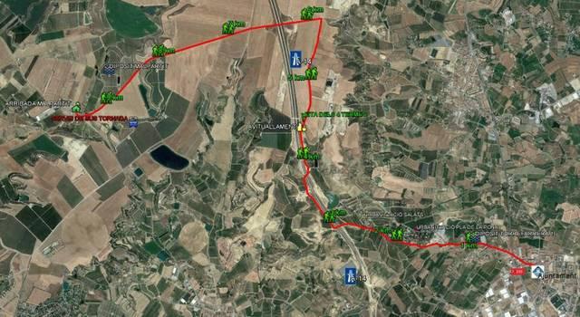 La Caminada popular de Torrefarrera a Malpartit arriba a la seva sisena edició
