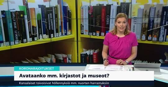 La campanya de la fruita a Alcarràs, protagonista a la televisió pública de Finlandia