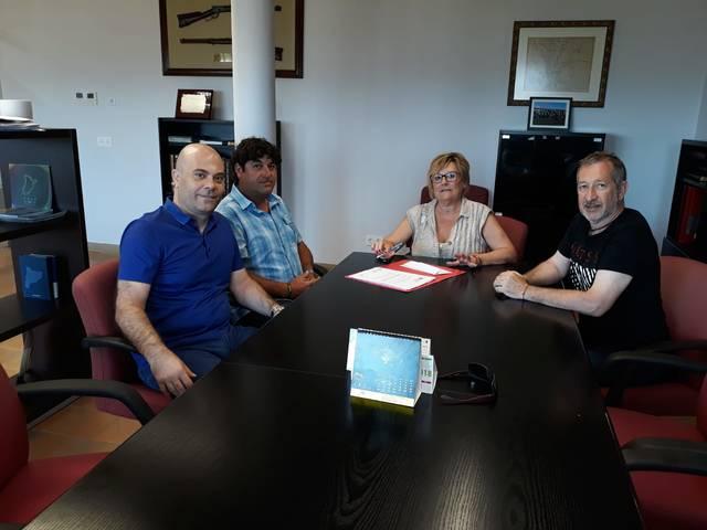 La comercialitzadora d'electricitat d'Almenar sufraga els nous vestidors de futbol