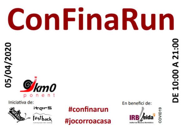 La #Confinarun supera els 6.500€ i s'acosta als 900 inscrits