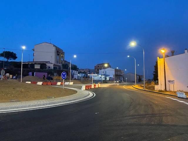 La connexió de l'Avinguda Catalunya i la Carretera de Vallmanya es reobrirà al trànsit aquesta tarda