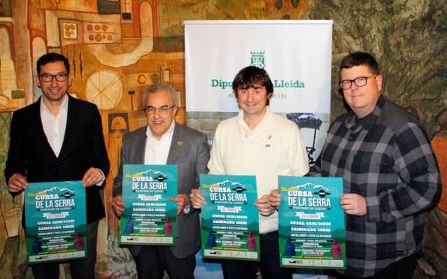 La Cursa de la Serra de Puigverd de Lleida espera uns 700 participans