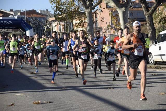 La Cursa i Caminada Solidàries d'Artesa de Lleida aplega 700 participants