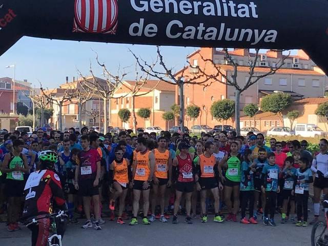 La Cursa i Caminada solidàries d'Artesa, sumen 750 participants