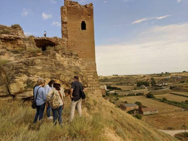 La Diputació de Lleida inicia les obres de consolidació urgents al castell de Sarroca de Lleida