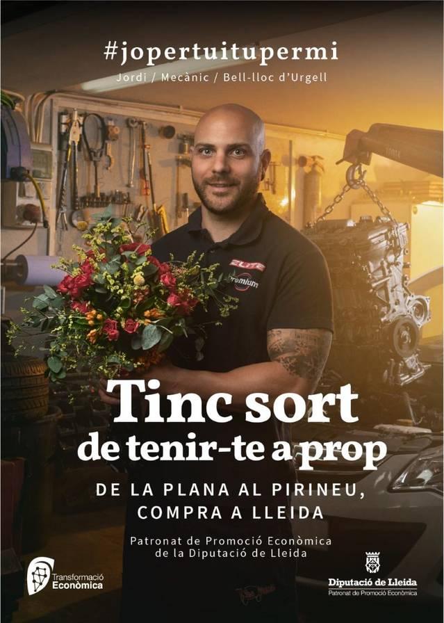 """La Diputació de Lleida promou el comerç de proximitat amb la campanya """"Tinc sort de tenir-te a prop"""", amb prop de 50 productors locals com a protagonistes"""