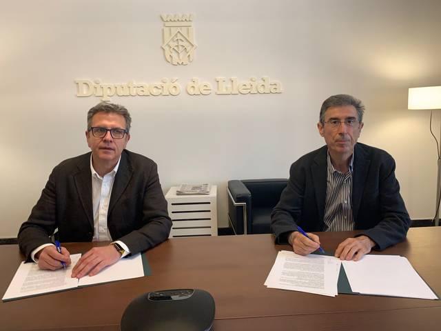 La Diputació de Lleida renova el conveni amb la UdL i destina 746.000 € a docència, investigació i activitats culturals en els propers quatre anys