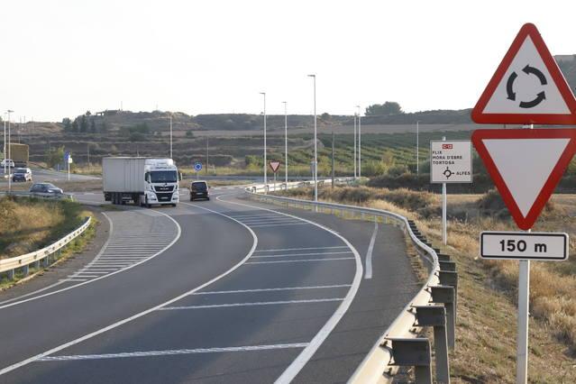 La Generalitat planteja convertir la carretera C-12 en autovia des de Lleida fins a Amposta
