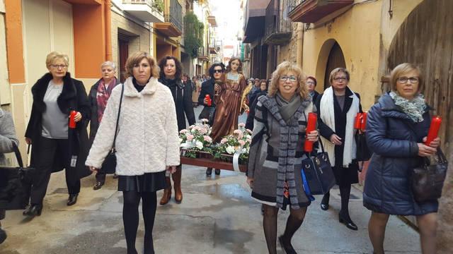 La Granja d'Escarp celebra Santa Àgueda