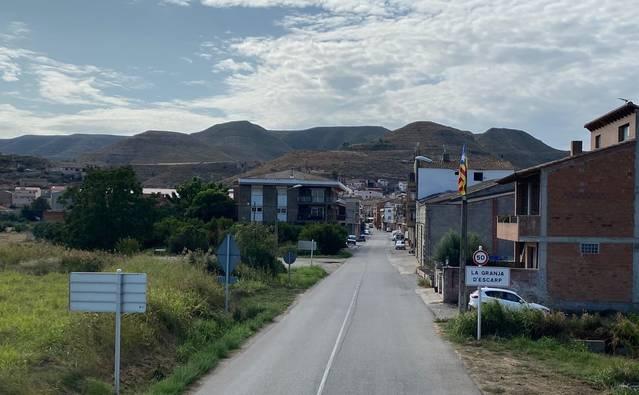 La Granja d'Escarp dignificarà i ordenarà l'entrada principal de la localitat
