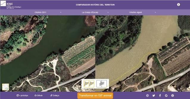 La Granja vol posar solució a les problemàtiques que ocasiona la crescuda de rius