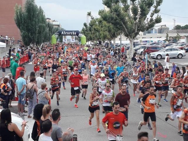 La Nectarina atlètica d'Alcarràs torna a fer el ple amb 600 participants