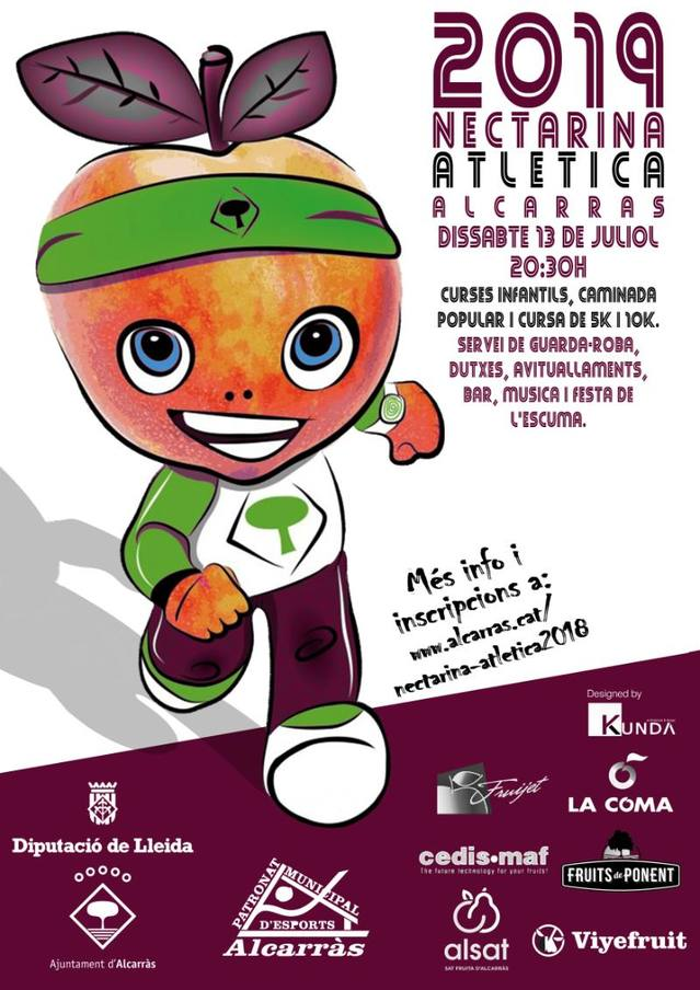 La Nectarina Atlètica espera uns 600 participants