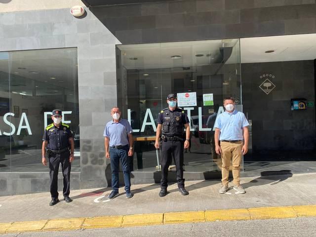 La Policia Local d'Alcarràs incorpora un nou agent