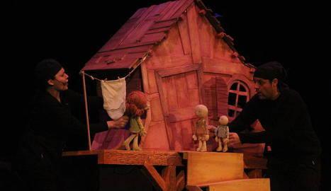 La primera obra amb públic, a Corbins amb Festuc Teatre
