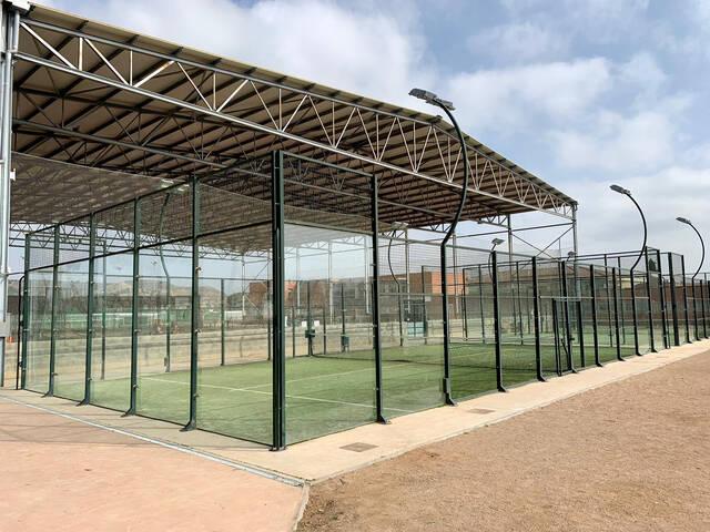 La proposta per ampliar la teulada de les pistes poliesportives del Parc del Graó i cobrir les pistes de pàdel, guanyadora dels primers pressupostos participatius d'Alpicat
