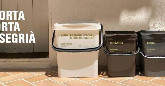 La recollida de residus porta a porta, dificultada a diversos pobles del Segrià pel temporal de neu