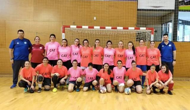 La selecció femenina prepara a Alcarràs els Campionats d'Espanya
