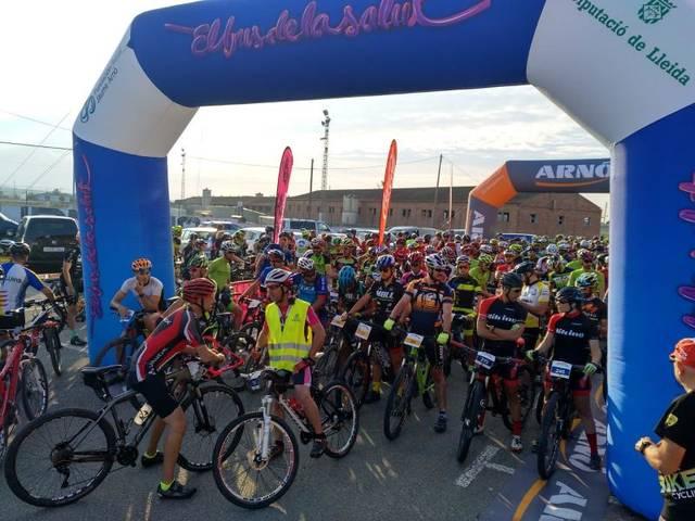 La Transplant Bike Almenar aplega 350 participants