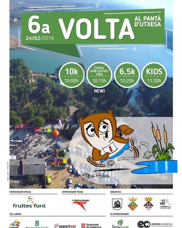 La VIª Volta al Pantà d'Utxesa es celebrarà el 24 de febrer