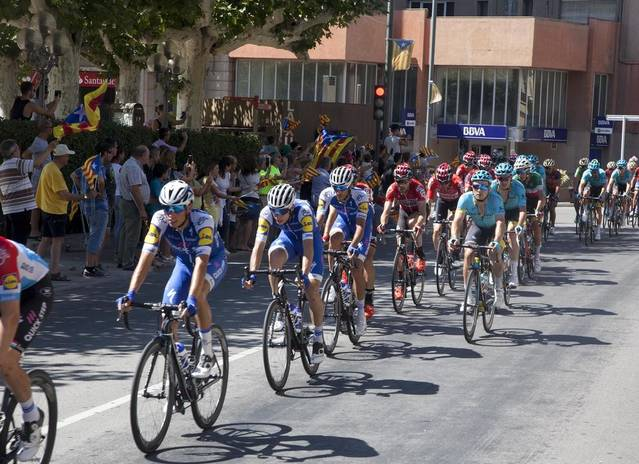 La Vuelta passarà aquest dijous per Almacelles, Alpicat, Torrefarrera i Lleida